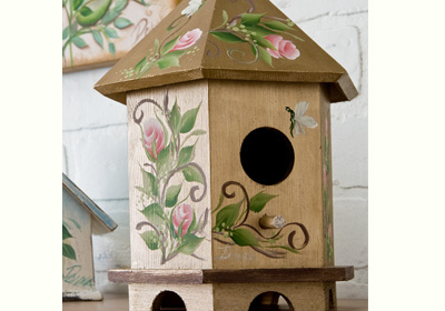 Rose Birdhouse