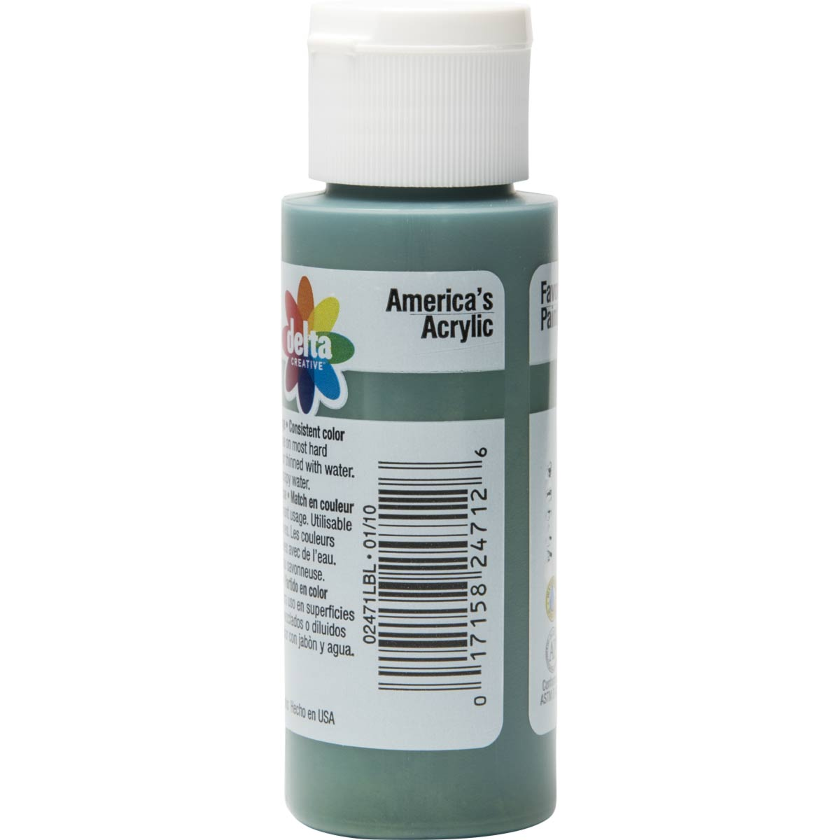 Delta Ceramcoat ® Acrylic Paint - Hunter Green, 2 oz.