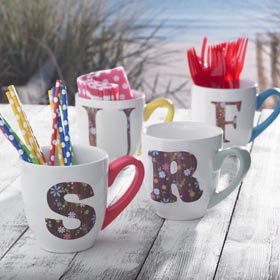 Coffee Mug Crafts - SURF Cups
