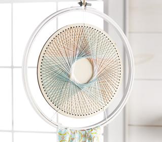 Circle String Art Dreamcatcher