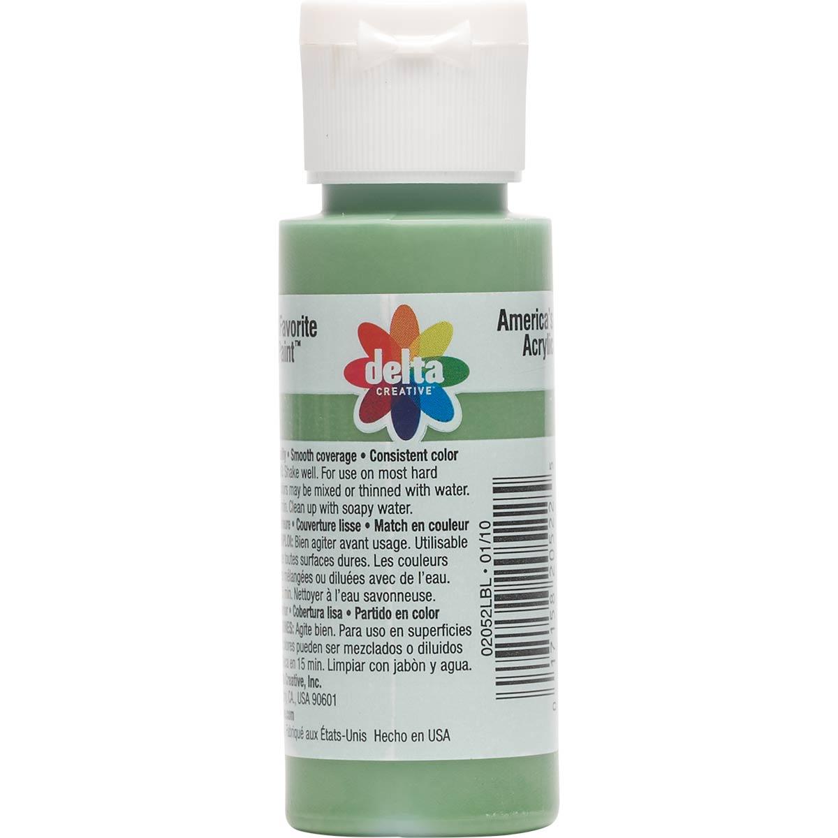 Delta Ceramcoat ® Acrylic Paint - Kelly Green, 2 oz.