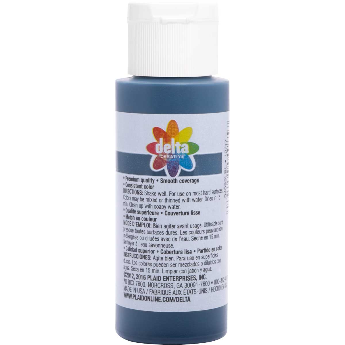 Delta Ceramcoat ® Acrylic Paint - Ink Blot, 2 oz. - 04085