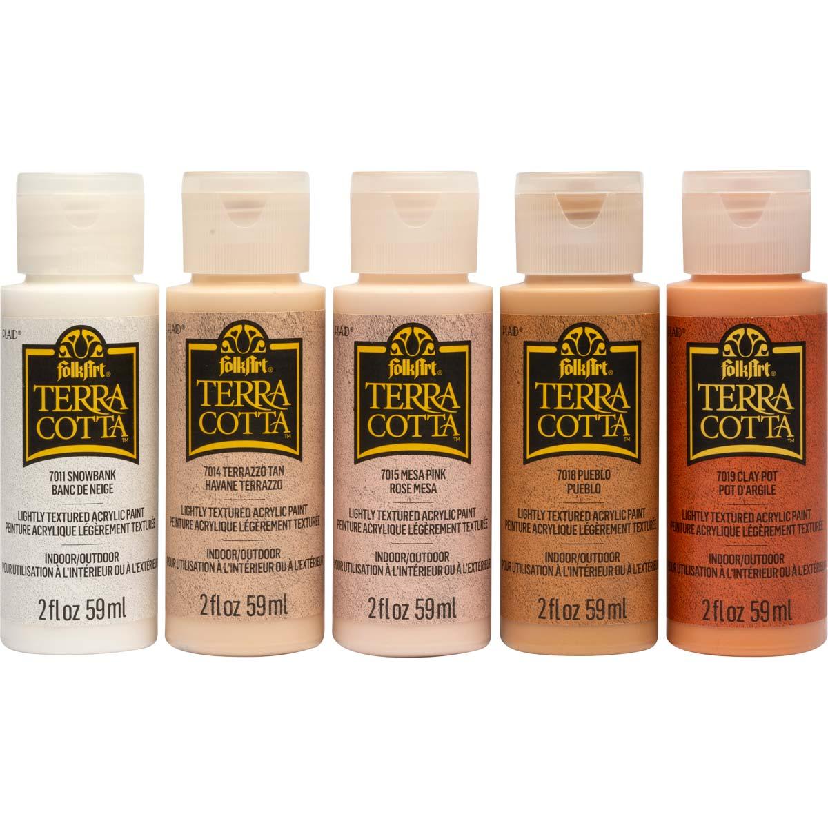 FolkArt ® Terra Cotta™ Acrylic Paint Set - Essential, 5 pcs. - 44506