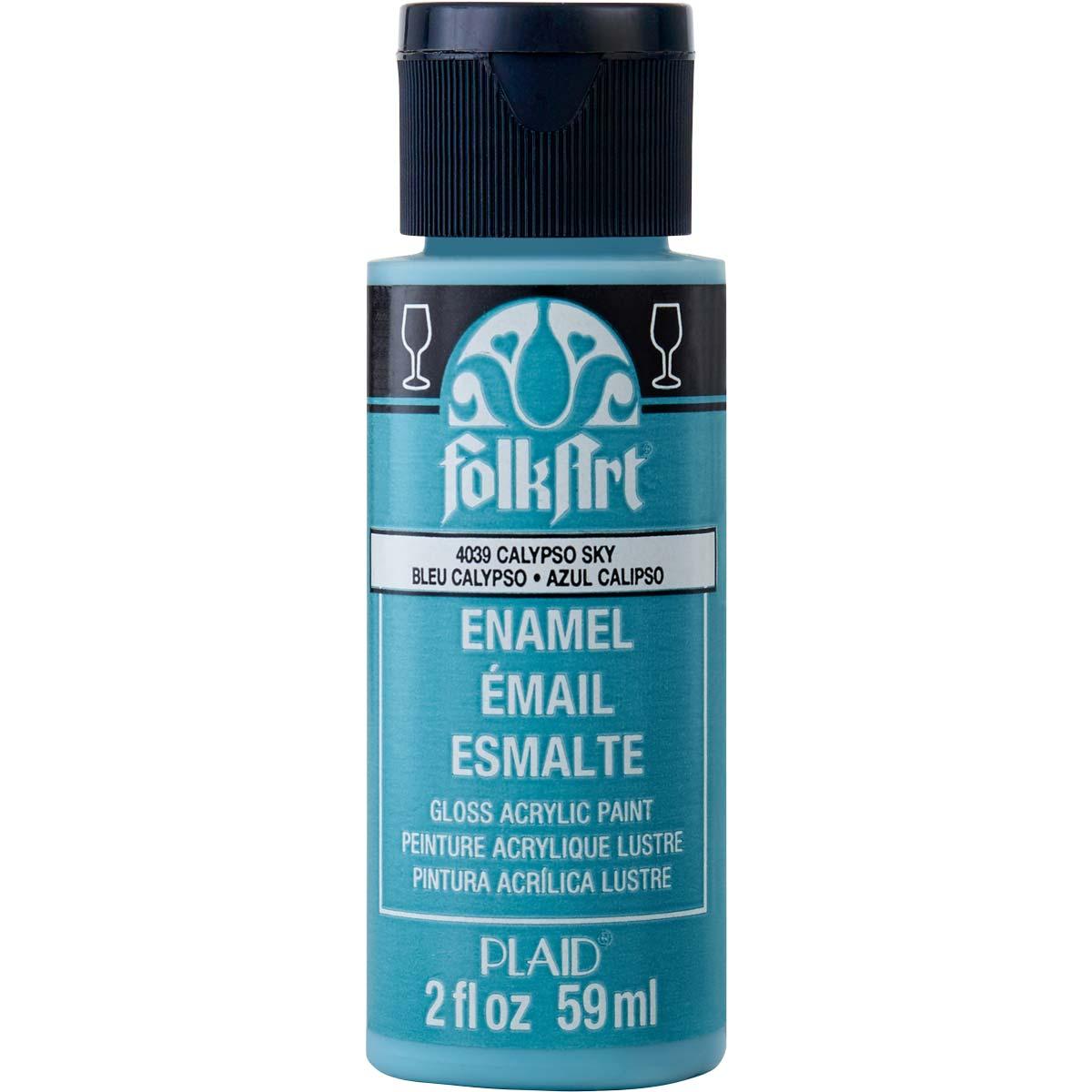 FolkArt ® Enamels™ - Calypso Sky, 2 oz. - 4039