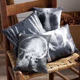X-Ray Pillows Halloween Decoration Idea