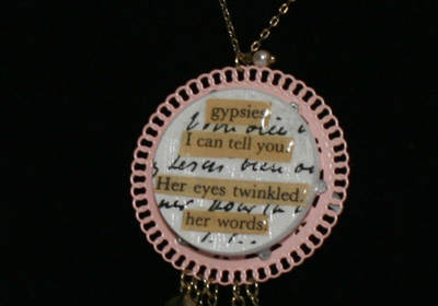 Poker Chip Necklace