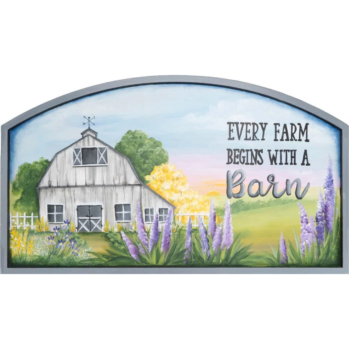 Every Farm Begins with a Barn