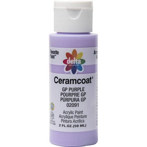 Delta Ceramcoat ® Acrylic Paint - GP Purple, 2 oz.