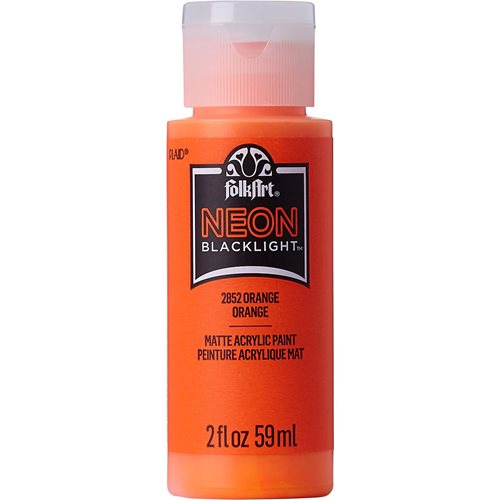 FolkArt ® Neons -  Orange, 2 oz. - 2852