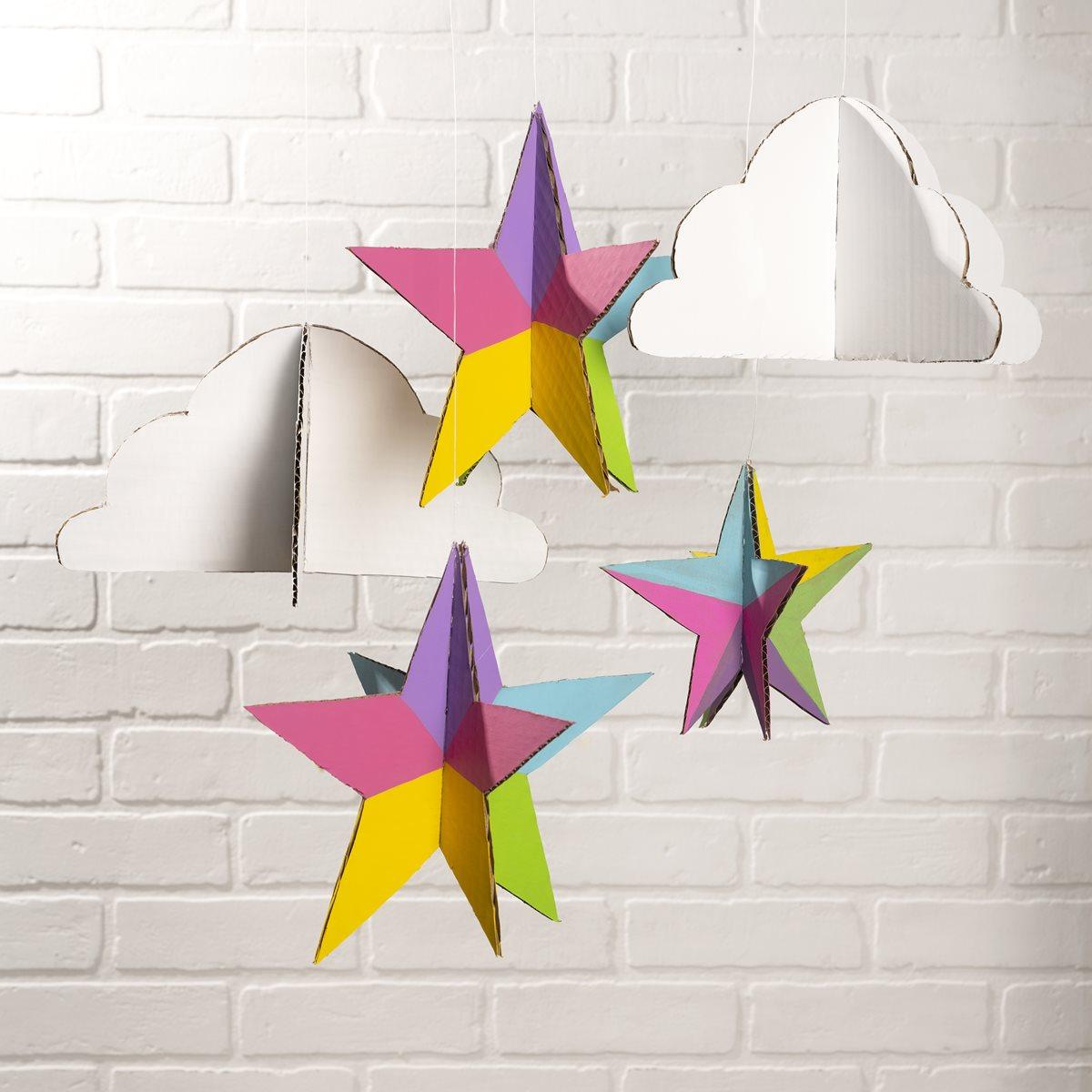 Cardboard Clouds and Stars