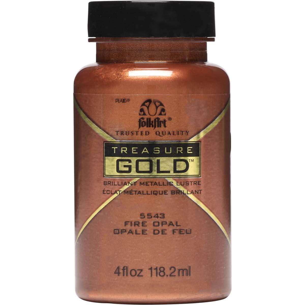 FolkArt ® Treasure Gold™ - Fire Opal, 4 oz. - 5543