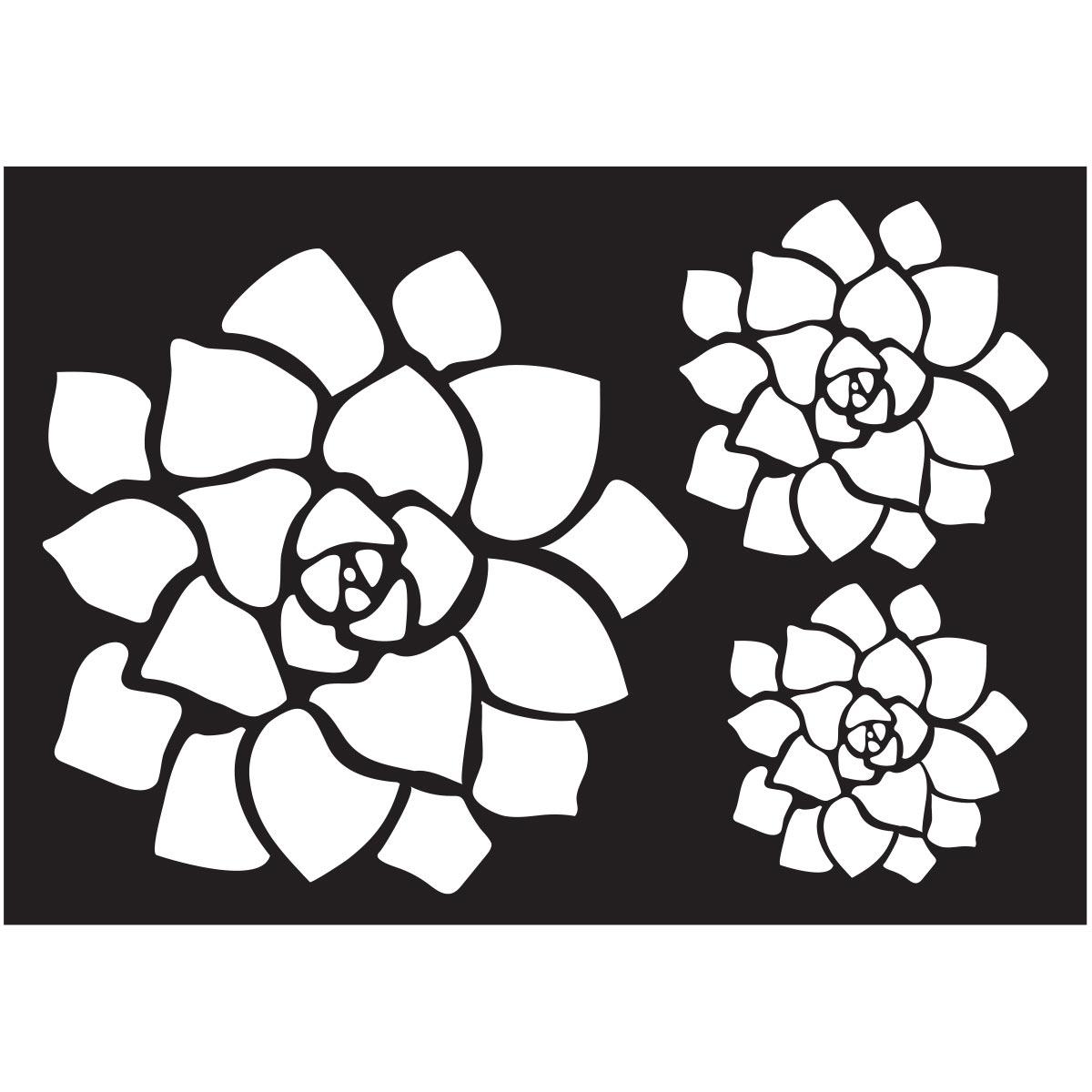 FolkArt ® Painting Stencils - Succulent Motif
