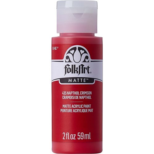 FolkArt ® Acrylic Colors - Napthol Crimson, 2 oz.