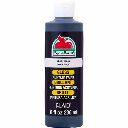 Apple Barrel ® Gloss™ - Black, 8 oz. - 20409