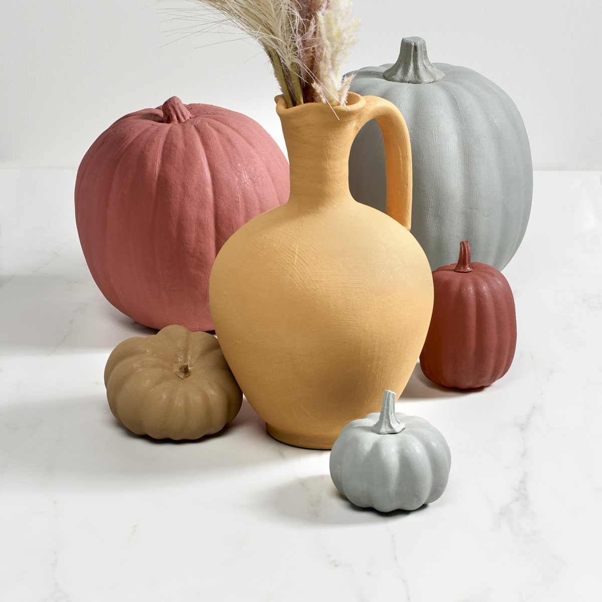 FolkArt Terra Cotta Pumpkins