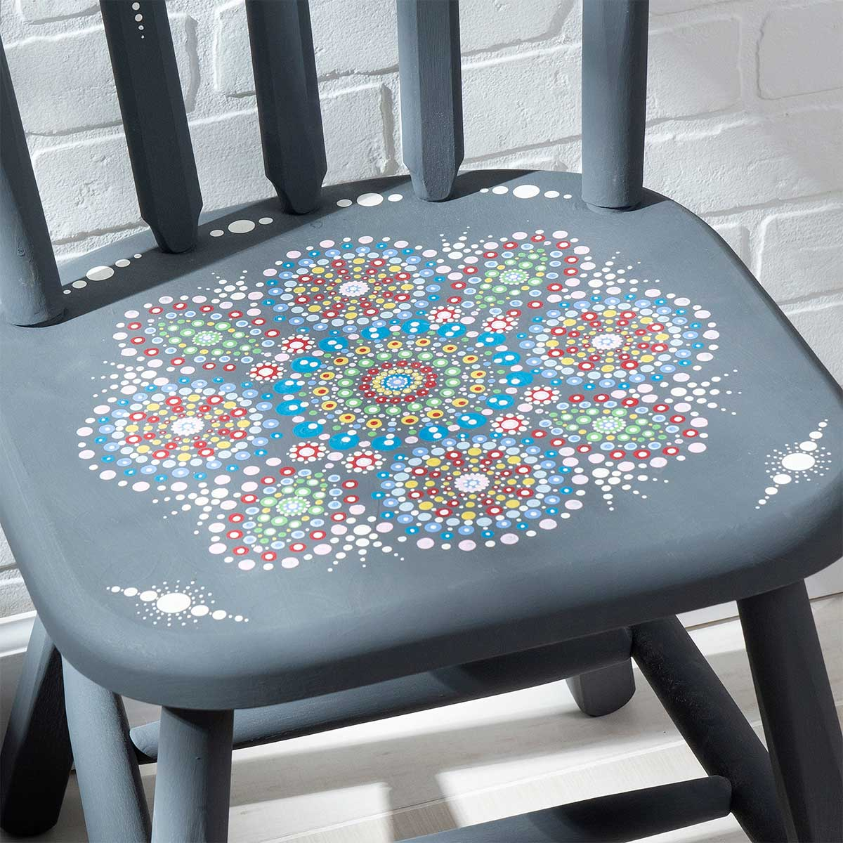DIY Mandala Inspired Chair
