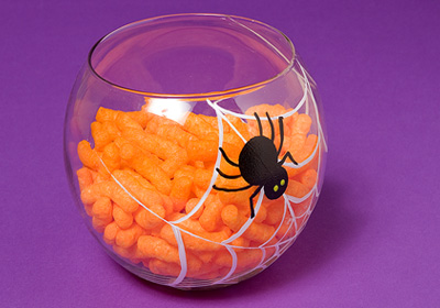 Spider Web Candy Dish