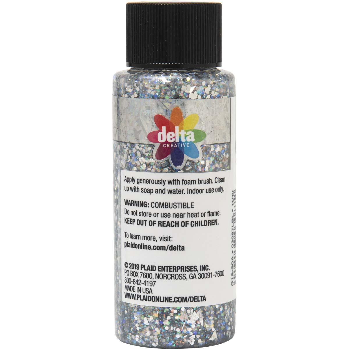 Delta Ceramcoat ® Glitter Explosion™ - Silver, 2 oz. - 03087