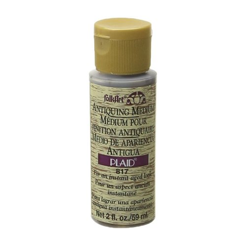 FolkArt ® Mediums - Antiquing Medium - Woodn' Bucket Brown, 2 oz.
