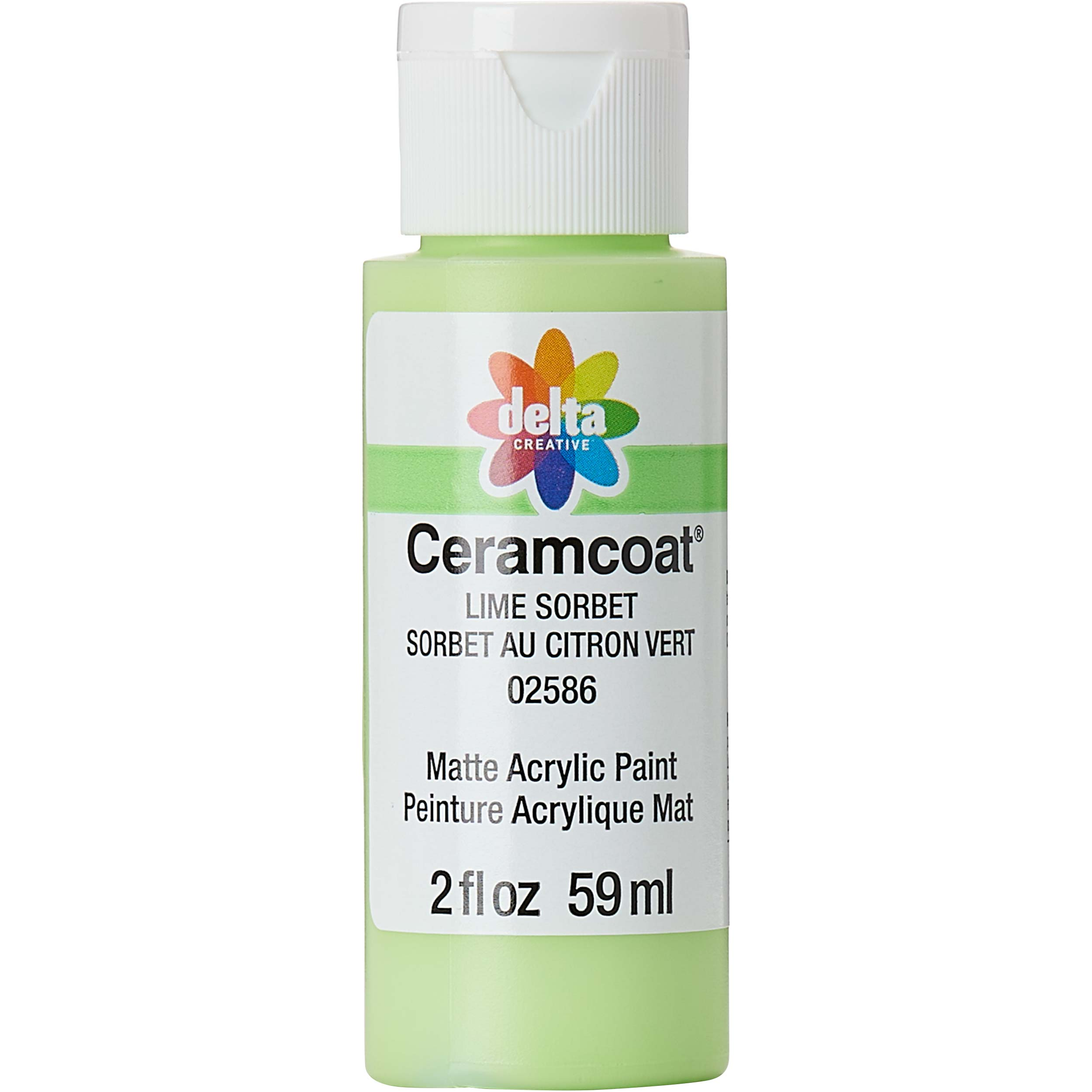 Delta Ceramcoat ® Acrylic Paint - Lime Sorbet, 2 oz. - 025860202W