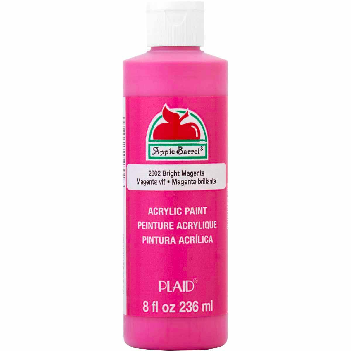 Apple Barrel ® Colors - Bright Magenta, 8 oz. - K2602