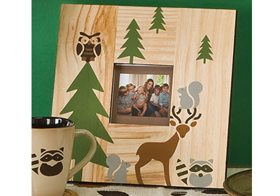 Woodland Forest Photo Frame by Handmade Charlotte™