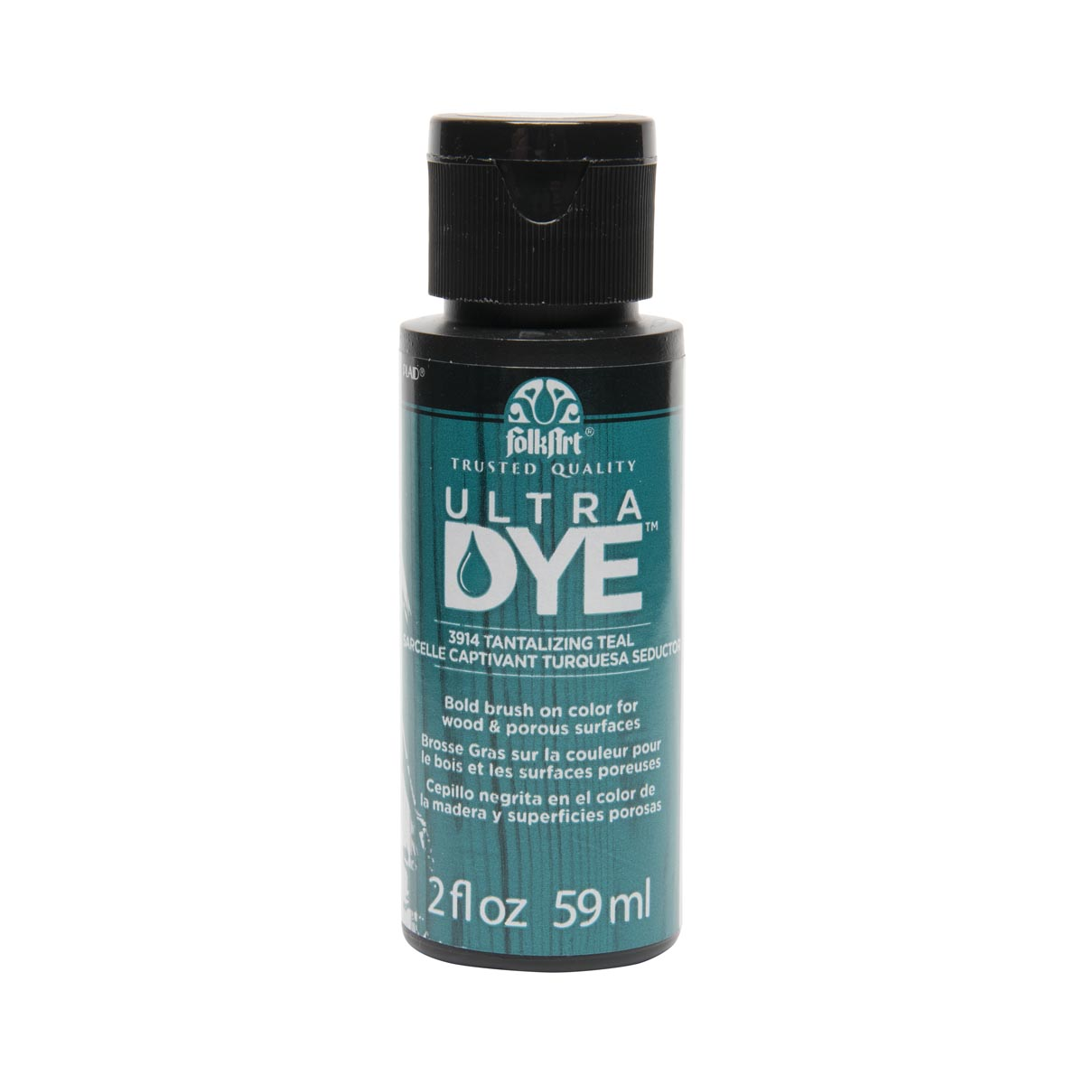FolkArt ® Ultra Dye™ Colors - Tantalizing Teal, 2 oz. - 3914