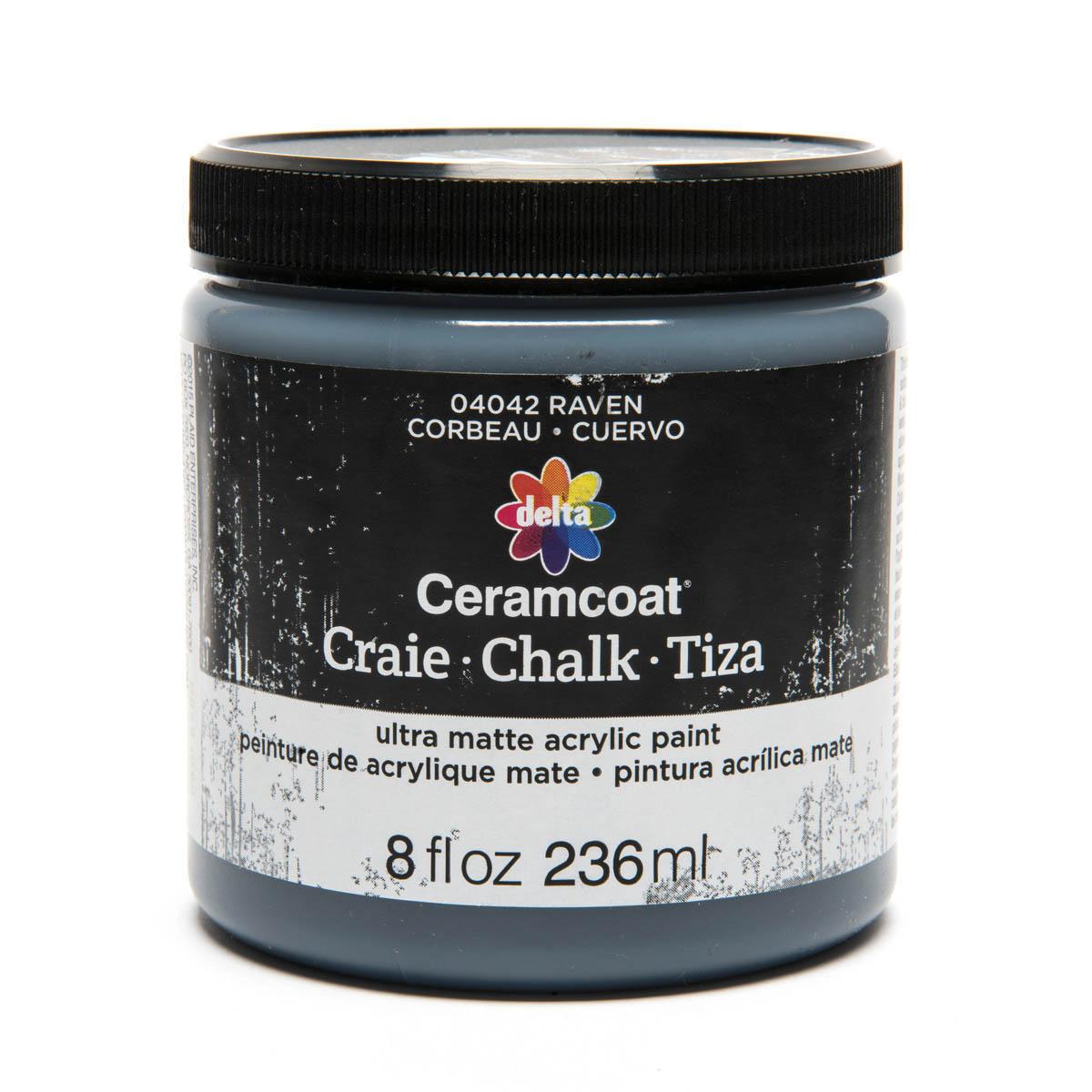 Delta Ceramcoat ® Chalk - Raven, 8 oz.