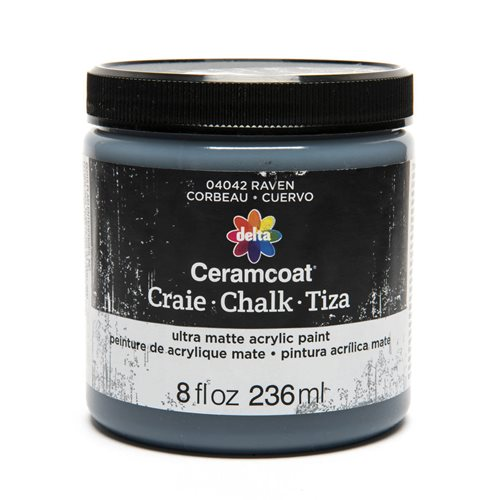 Delta Ceramcoat ® Chalk - Raven, 8 oz.