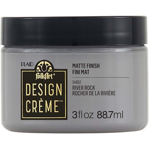 FolkArt ® Design Creme™ - River Rock, 3 oz. - 34852