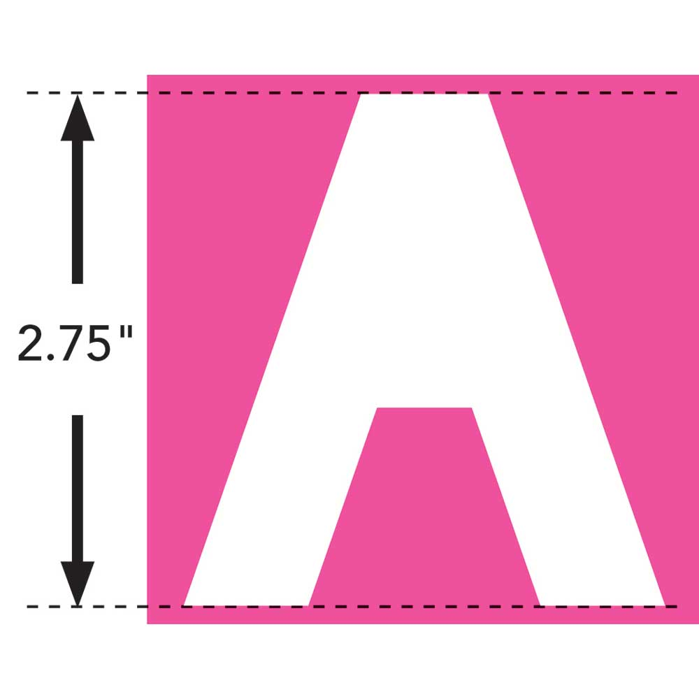 LaurDIY ® Iron-on Fabric Letters - A