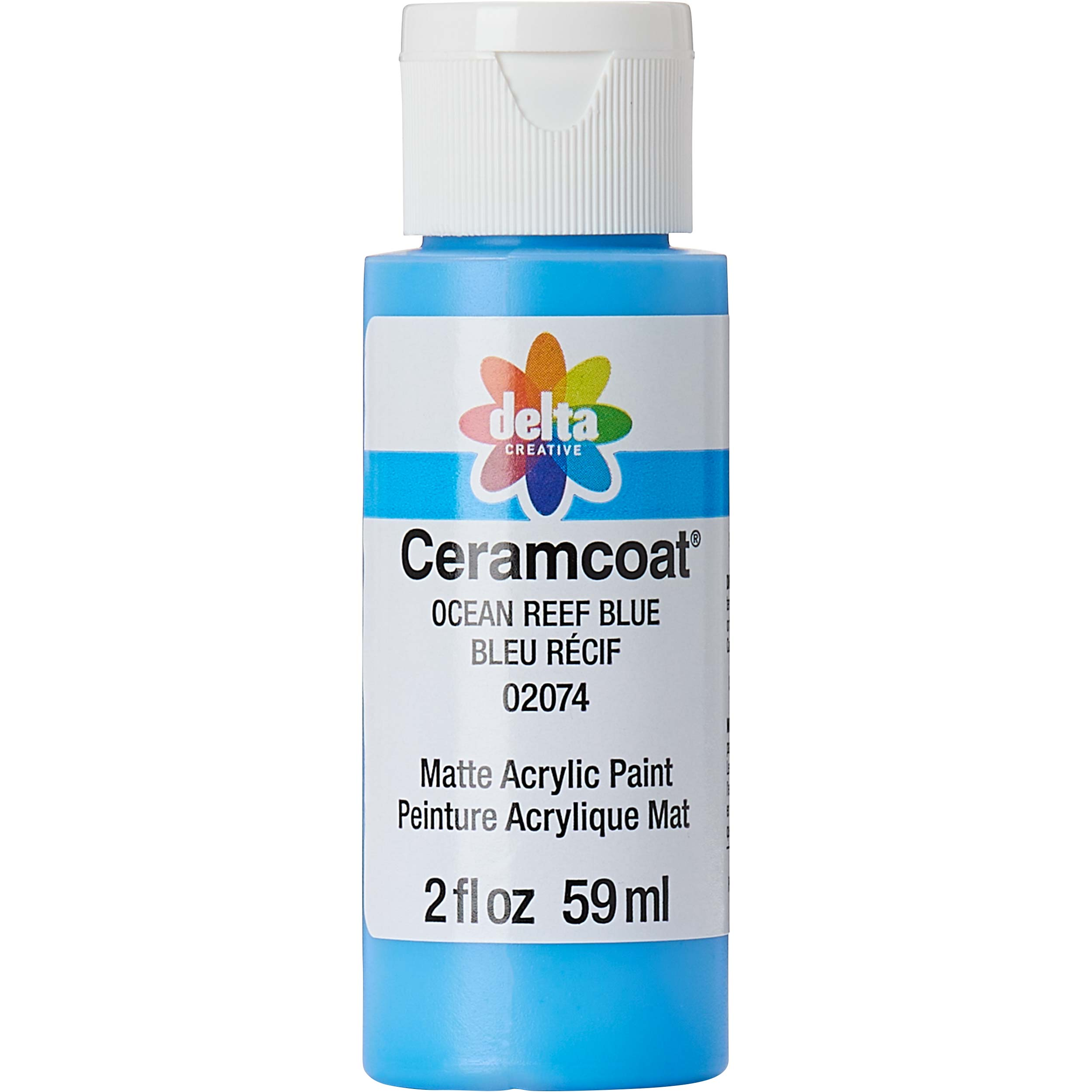 Delta Ceramcoat ® Acrylic Paint - Ocean Reef Blue, 2 oz.