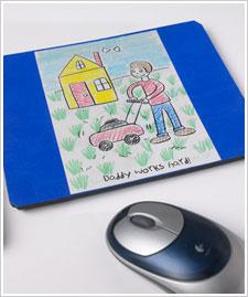 Mod Podge Mouse Pad