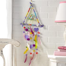 Sticks Dreamcatcher Crafting Activity for Kids