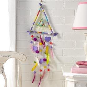 Sticks Dreamcatcher Crafting Activity for Kids
