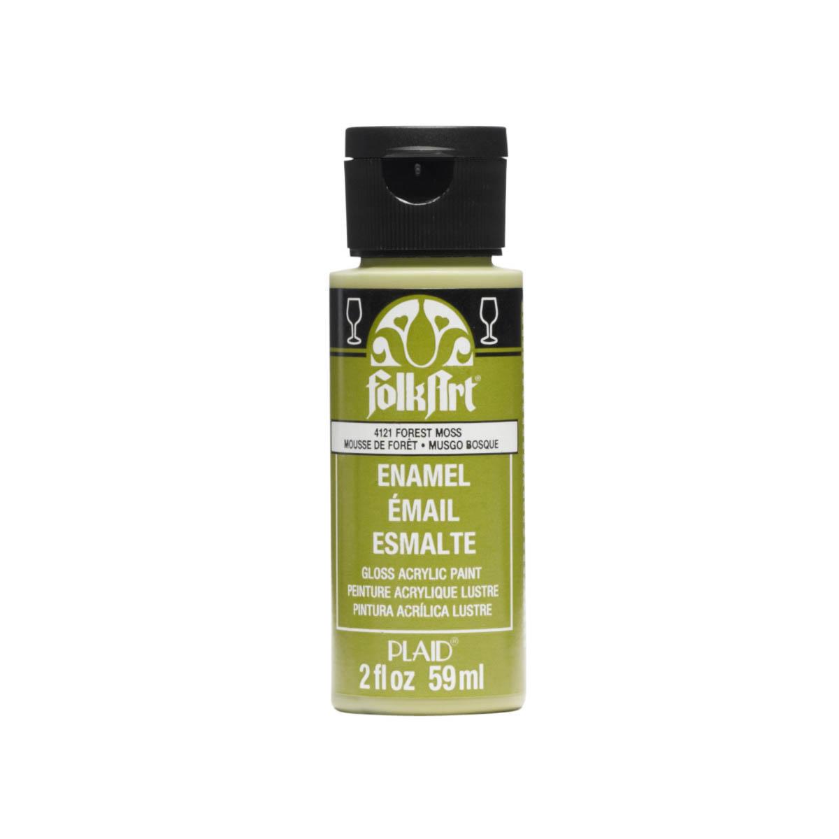 FolkArt ® Enamels™ - Forest Moss, 2 oz. - 4121