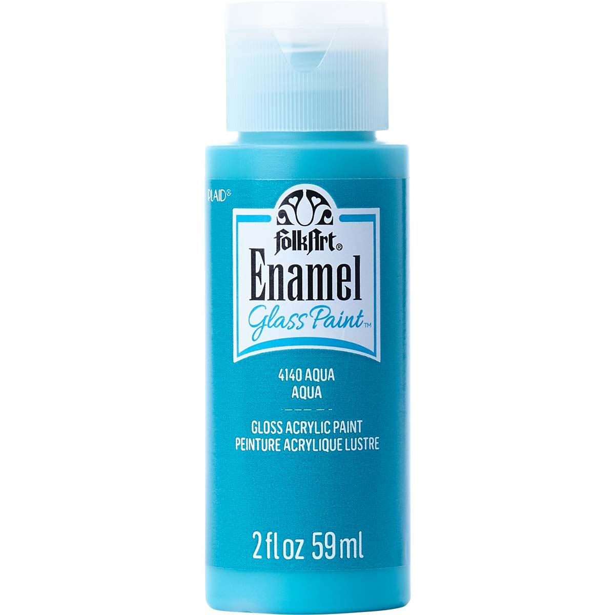 FolkArt ® Enamels™ - Aqua, 2 oz. - 4140