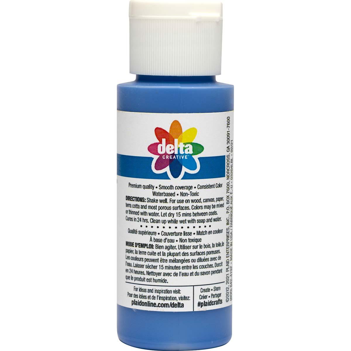 Delta Ceramcoat Acrylic Paint - Blue Beauty, 2 oz. - 03204