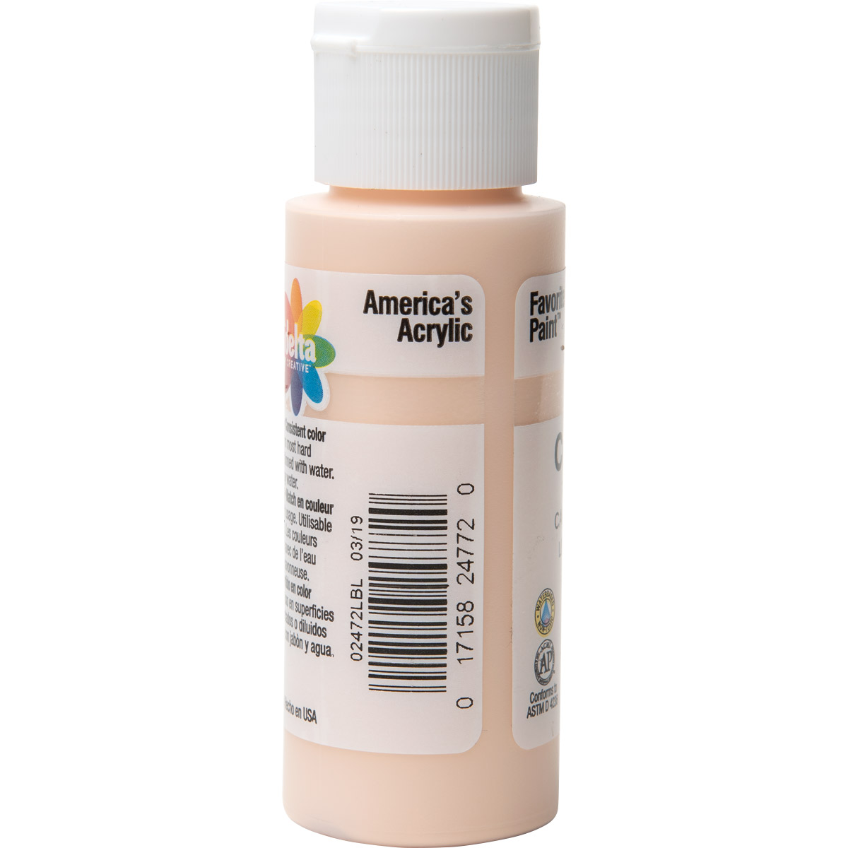 Delta Ceramcoat ® Acrylic Paint - Tawny Light, 2 oz.