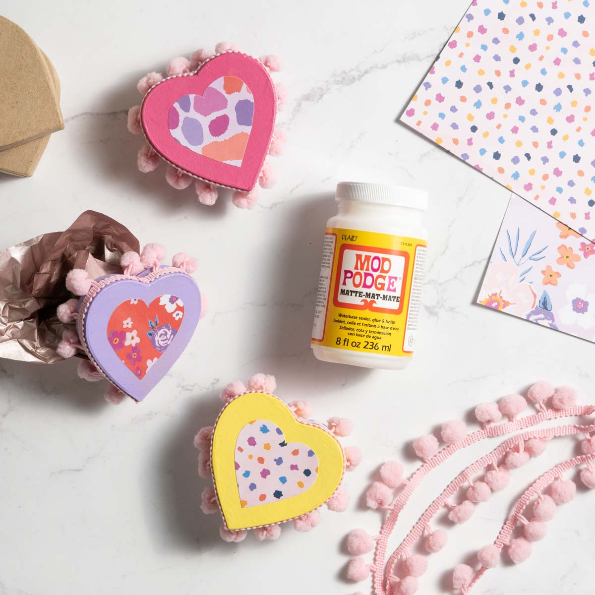 Valentines Day Heart Boxes