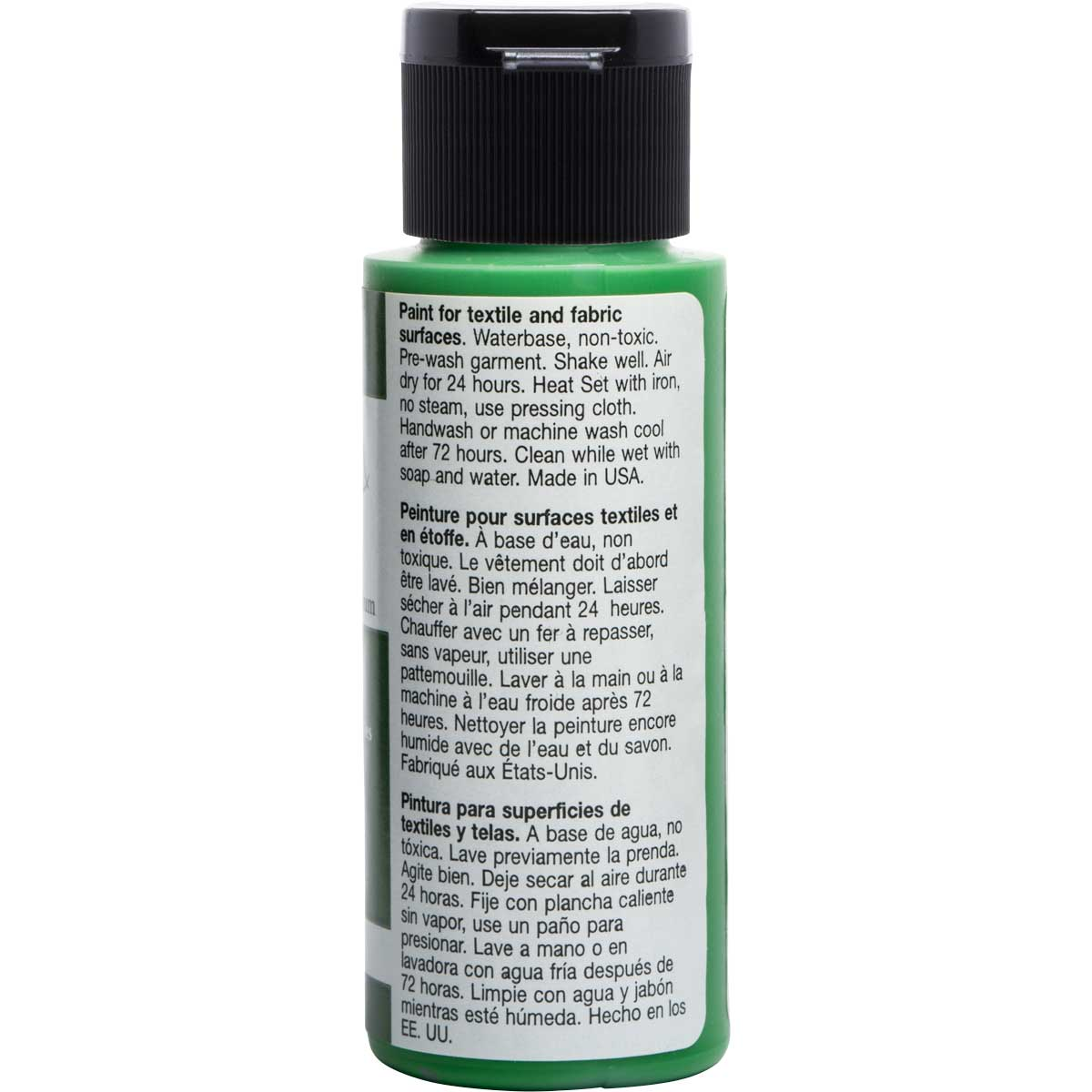 FolkArt ® Fabric™ Paint - Brush On - Hauser Green Medium
