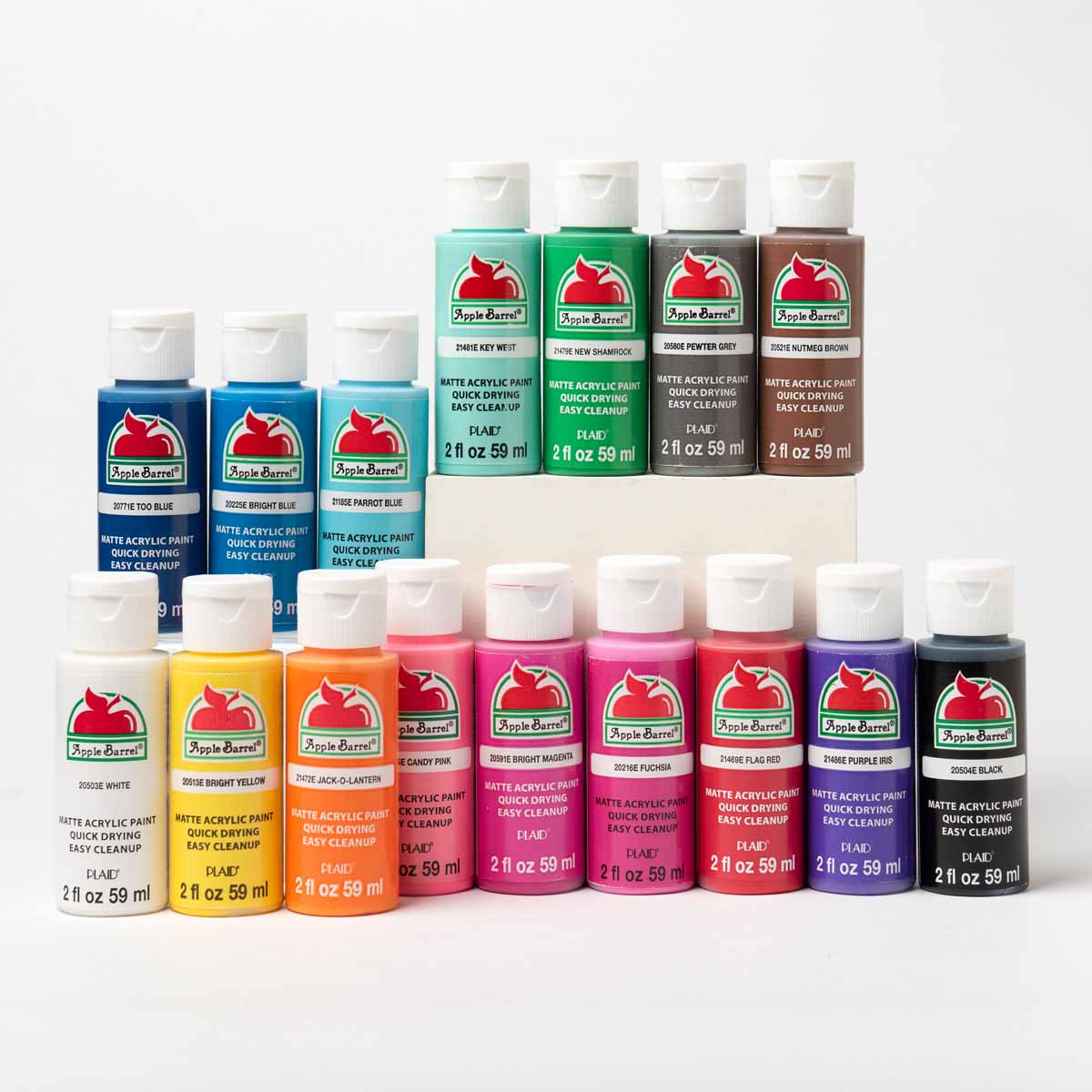 Apple Barrel ® Colors Acrylic Paint 16 Color Set - PROMOABIII