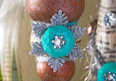 Winter Wonderland Snowflake Ornament