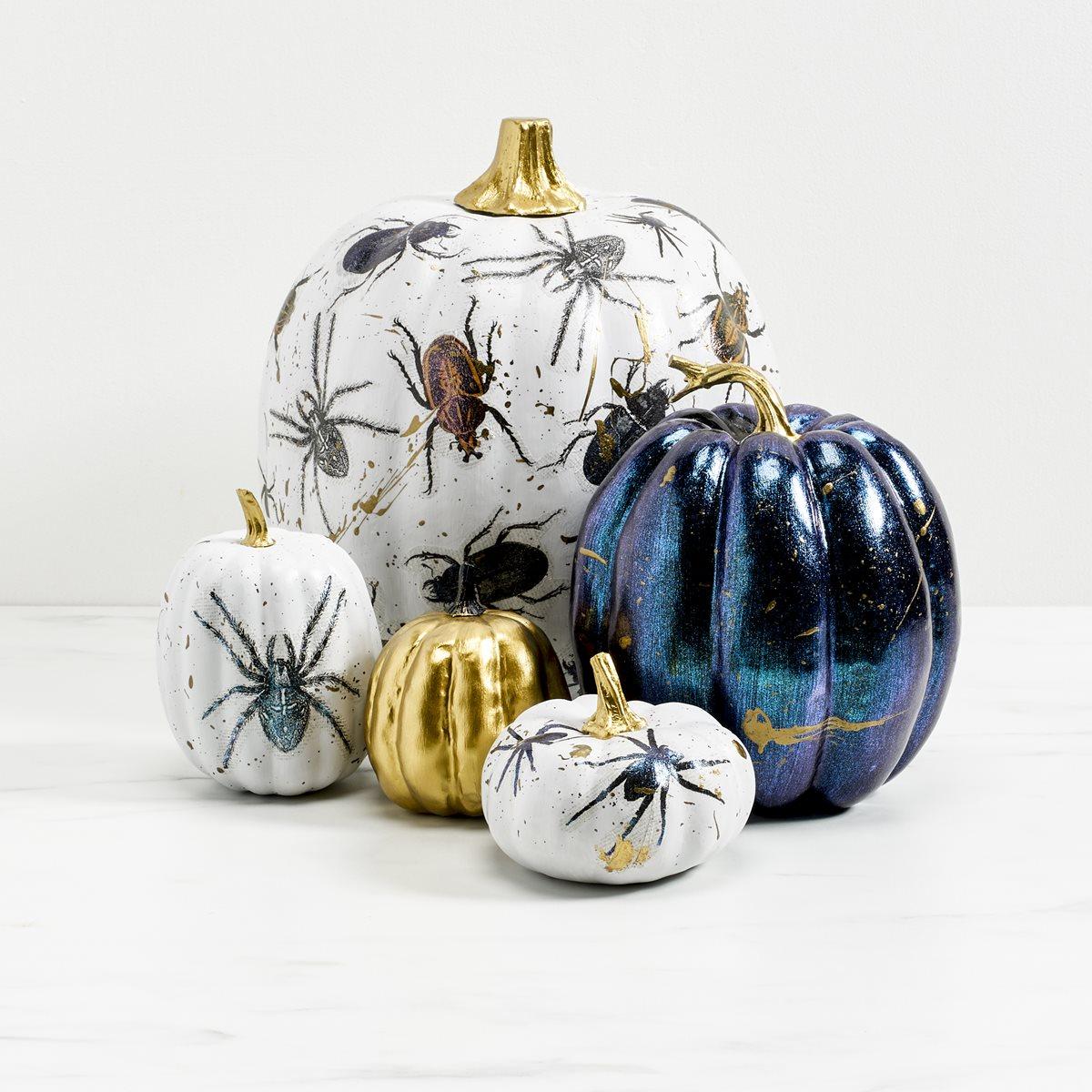 Mod Podge Bug Pumpkins