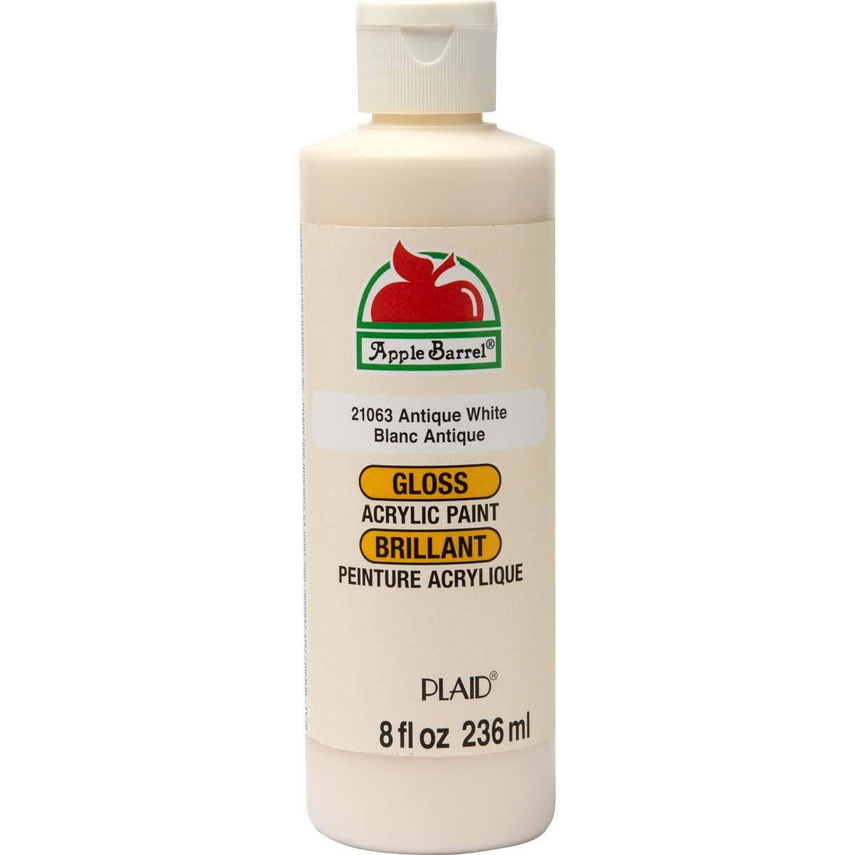 Apple Barrel ® Gloss™ - Antique White, 8 oz. - 21063