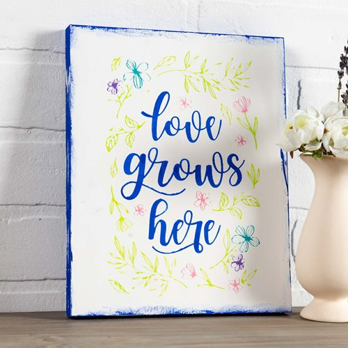 Love Grows Here - Botanical DIY