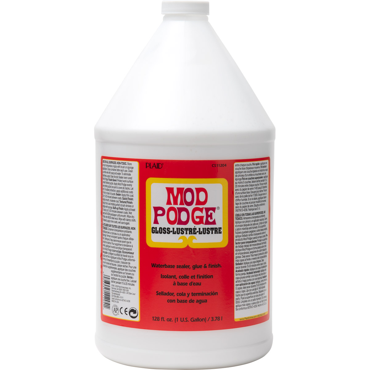 Mod Podge ® Gloss, Gallon - CS11204
