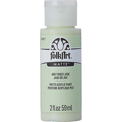 FolkArt ® Acrylic Colors - Faded Jade, 2 oz. - 4667