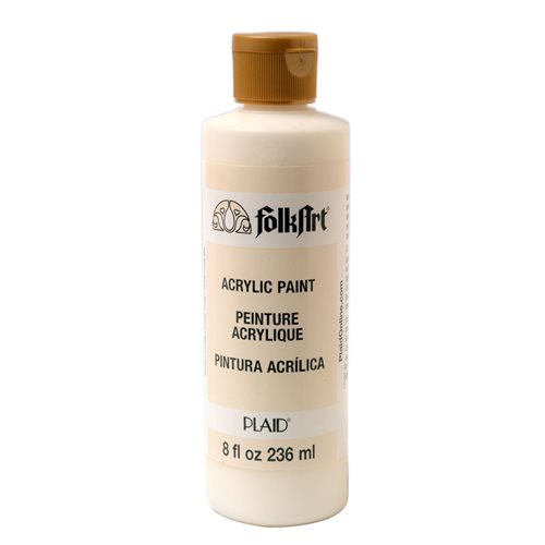 FolkArt ® Acrylic Colors - Warm White, 8 oz.