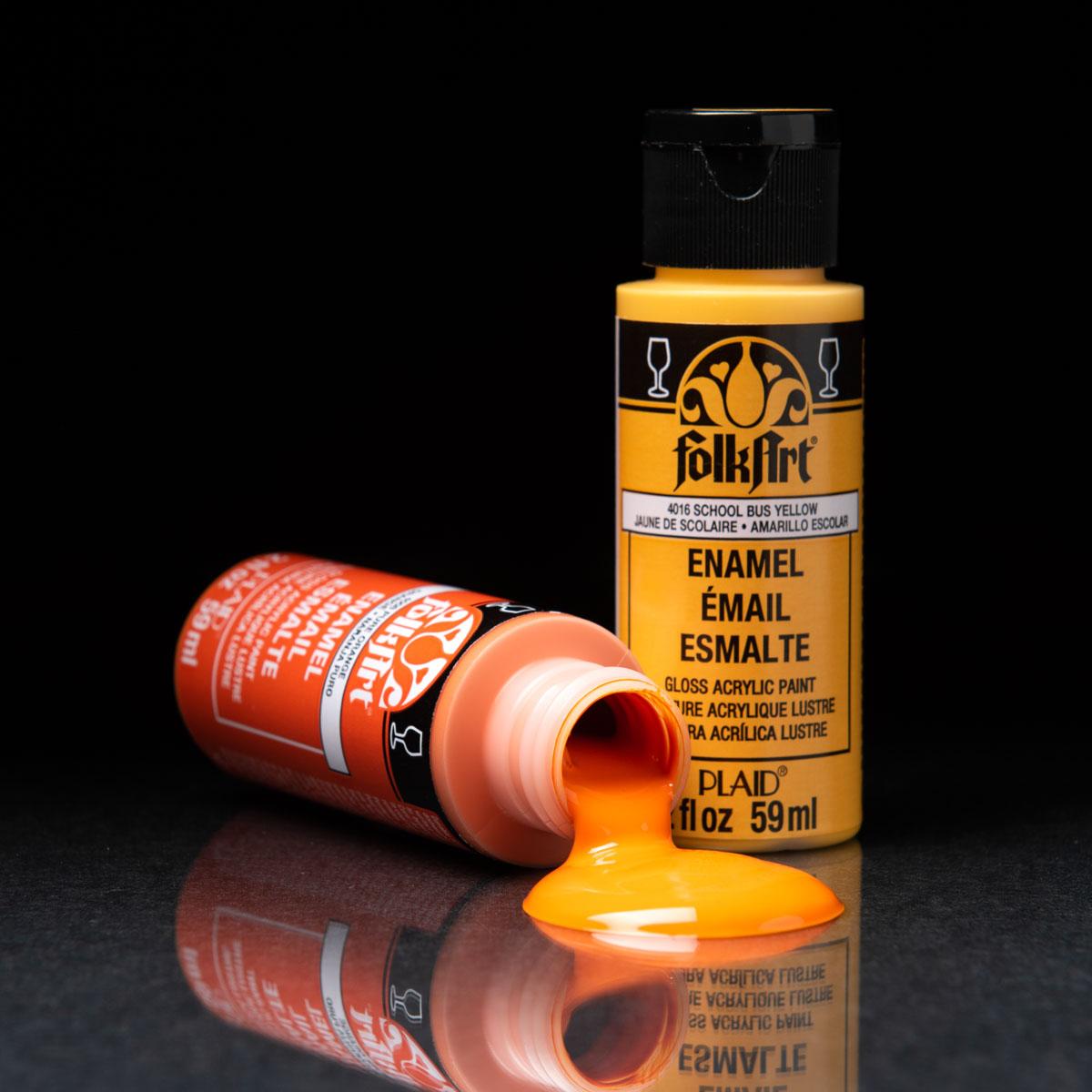 FolkArt ® Enamels™ 8 Color Set - ENAM8SET